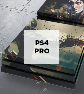 Skin για κονσόλα Sony PlayStation 4 Pro (PS4 Pro) / Front-Back-Side